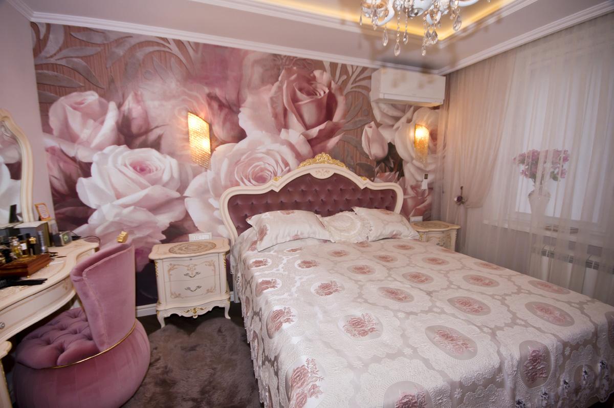 Ремонт трехкомнатной квартиры по адресу Ломоносовский просп., 5 ЖК Доминион, площадью 78 кв.м. спальня