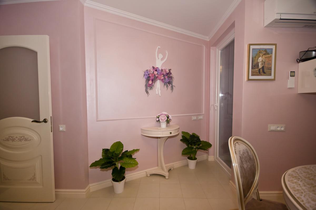 Ремонт трехкомнатной квартиры по адресу Ломоносовский просп., 5 ЖК Доминион, площадью 78 кв.м.
